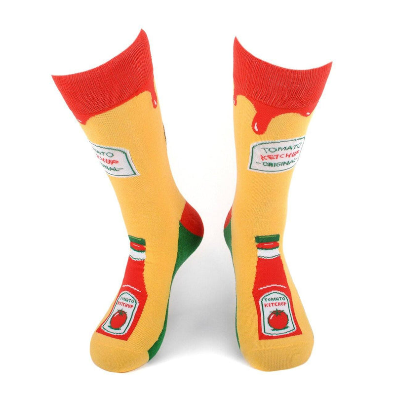 Men's Novelty Socks - Assorted Styles Men's Accessories Ketchup - DailySale