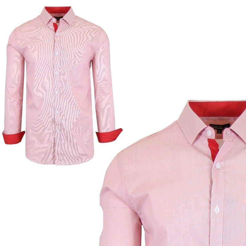 Men's Quick Dry Slim Fit Stretch Dress Shirts Men's Apparel S No. 12 - DailySale