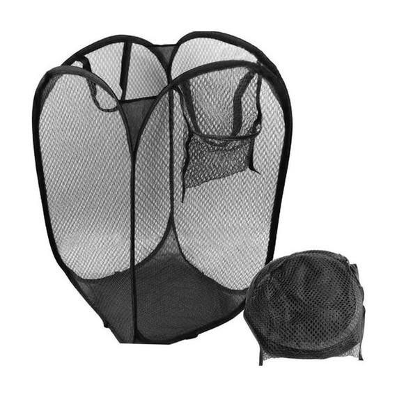 Meshed Up Collapsible Hamper Home Essentials - DailySale