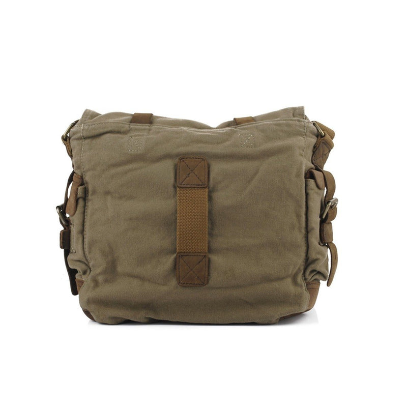 Military Vintage Canvas Crossbody Messenger Bag - Assorted Colors and Sizes Handbags & Wallets - DailySale
