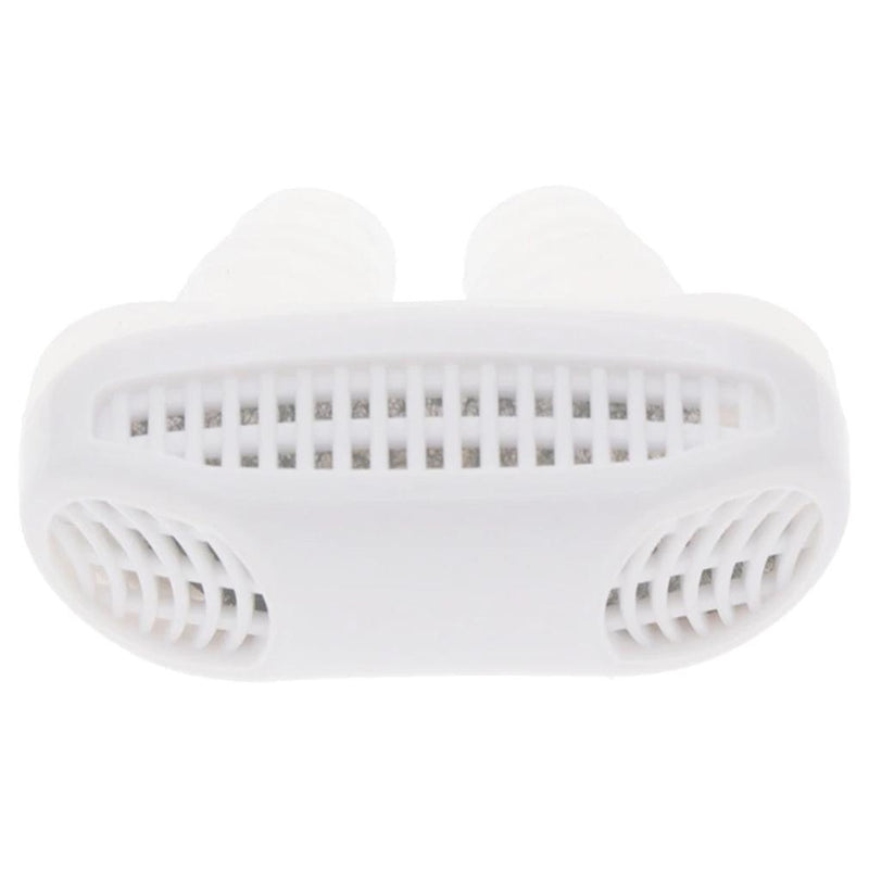 Mini CPAP Anti-Snoring Sleep Apnea Nasal Device & Case Wellness & Fitness White - DailySale