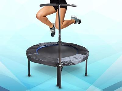 Mini Exercise Trampoline for Adults Sports & Outdoors - DailySale