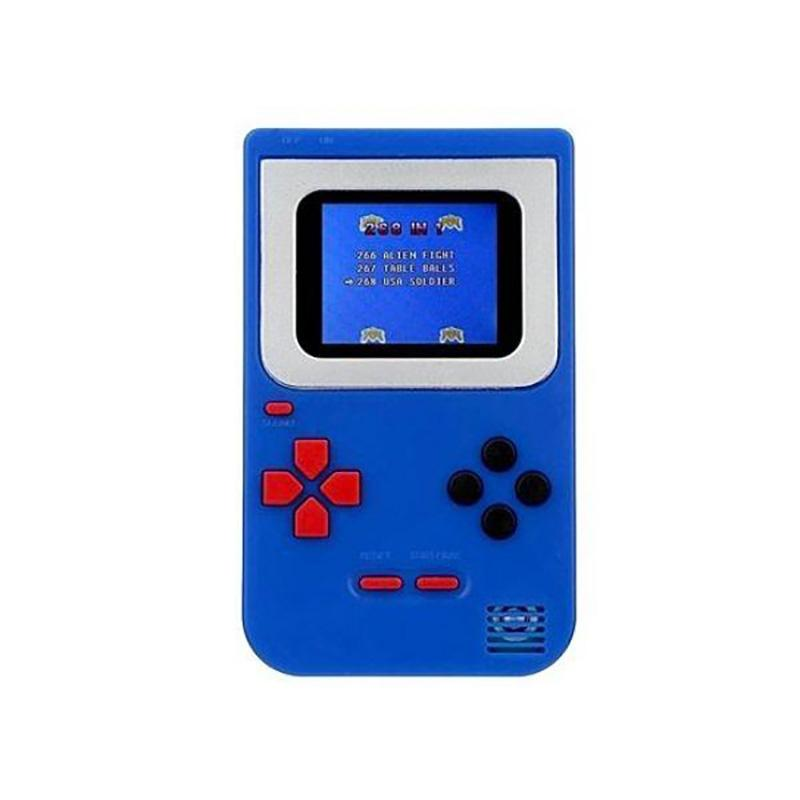 Mini Handheld Game Console 2.0 - Includes 268 Games Toys & Games Blue - DailySale