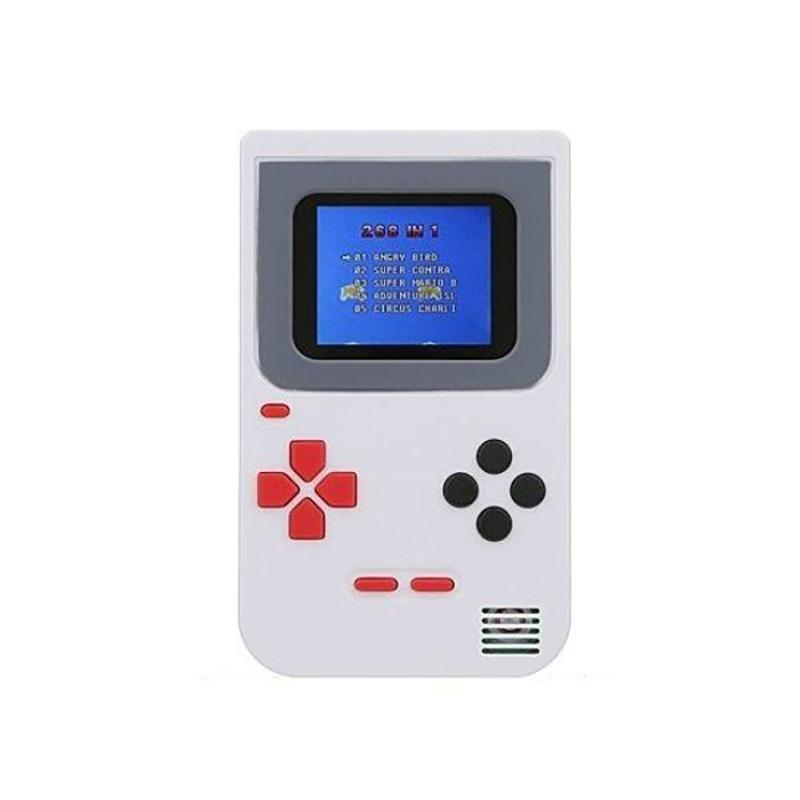 Mini Handheld Game Console 2.0 - Includes 268 Games Toys & Games White - DailySale
