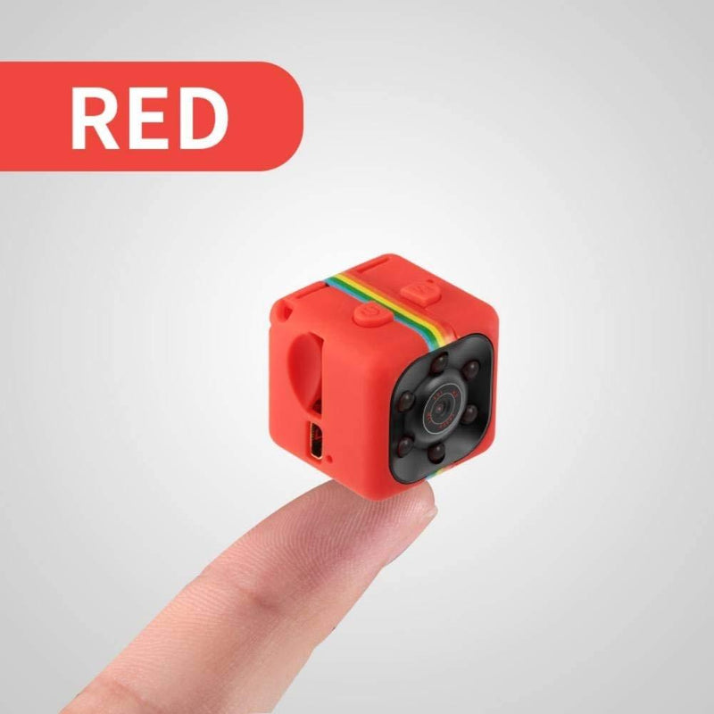 Mini Hidden Spy Camera 1080P Night Vision - Assorted Colors Gadgets & Accessories Red - DailySale