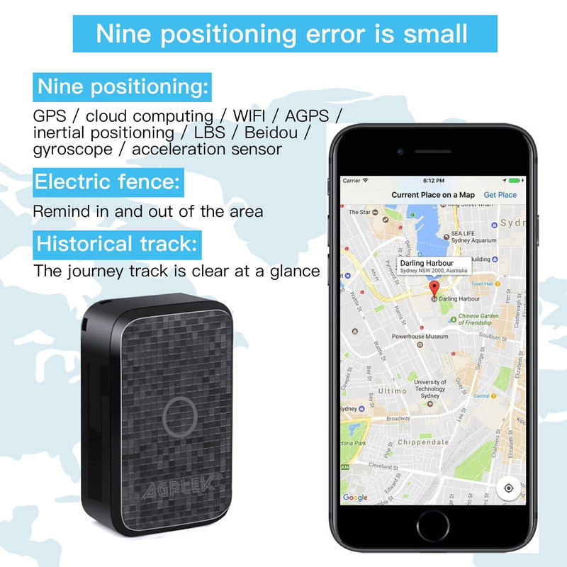 Mini Portable Spy Real Time Personal and Vehicle GPS Tracker Voice Recorder Mobile Accessories - DailySale