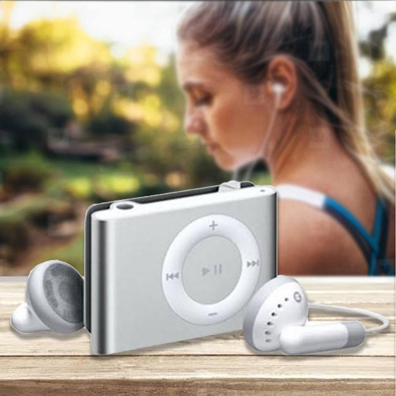 Mini Shuffling MP3 Player with USB Cable and Headphones Gadgets & Accessories - DailySale