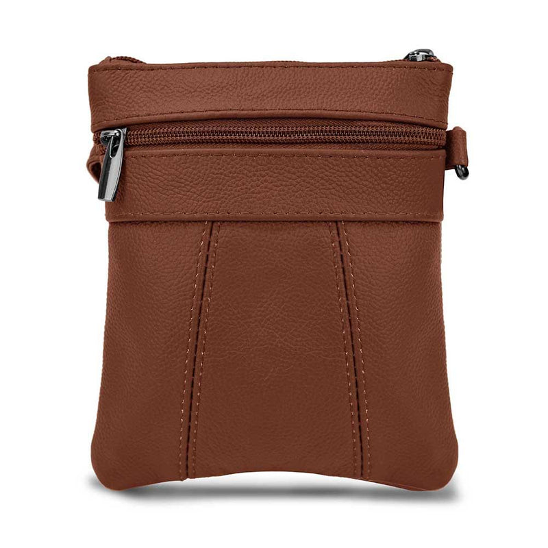 Mini Soft Leather Crossbody Wallet