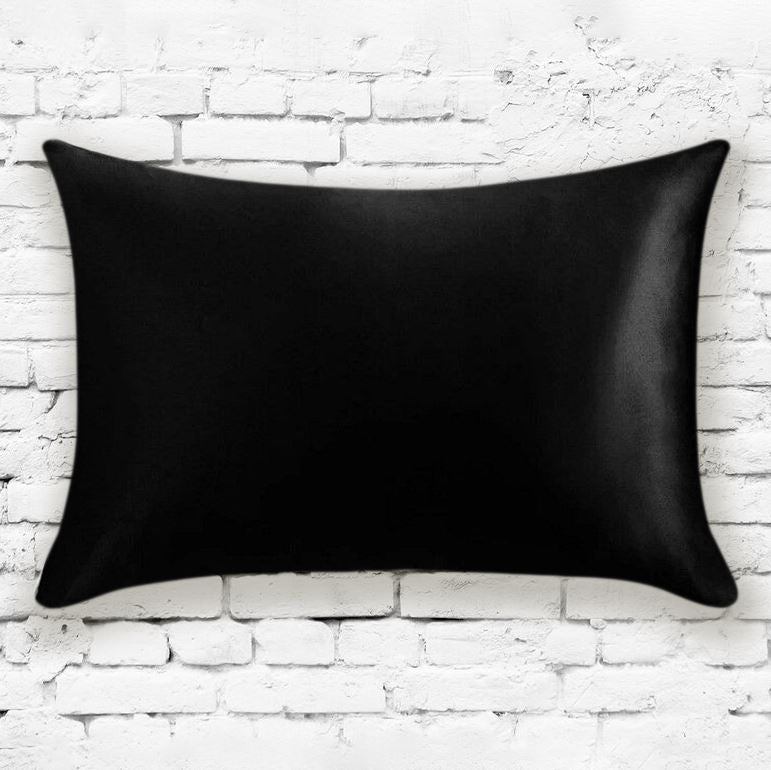 Mulberry Silk Pillowcases - Assorted Colors Linen & Bedding Black - DailySale