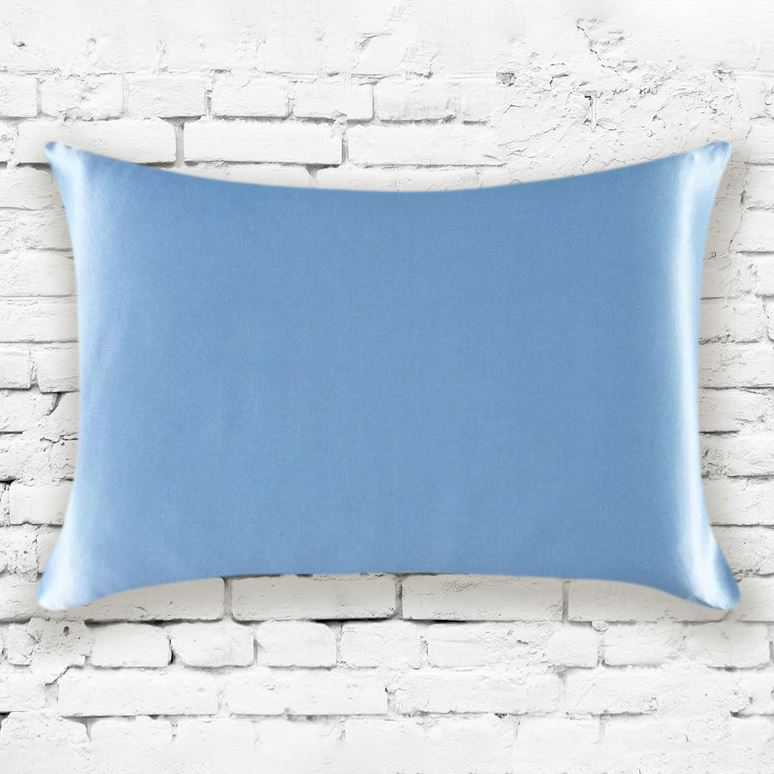 Mulberry Silk Pillowcases - Assorted Colors Linen & Bedding Blue - DailySale