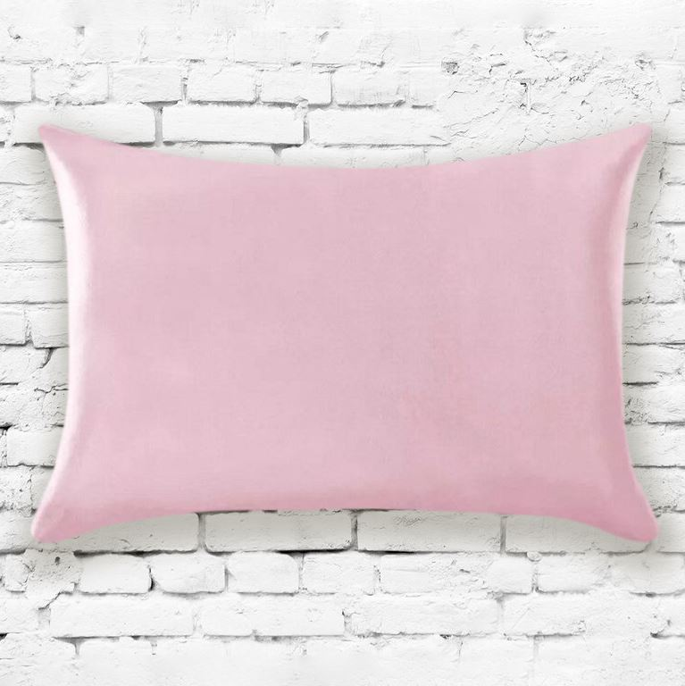 Mulberry Silk Pillowcases - Assorted Colors Linen & Bedding Pink - DailySale