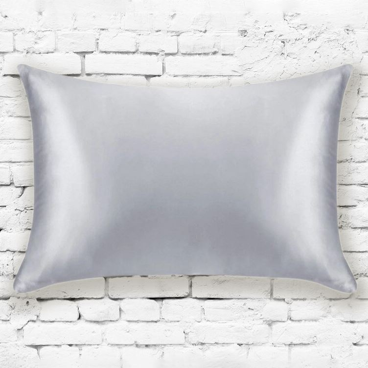 Mulberry Silk Pillowcases - Assorted Colors Linen & Bedding Silver - DailySale