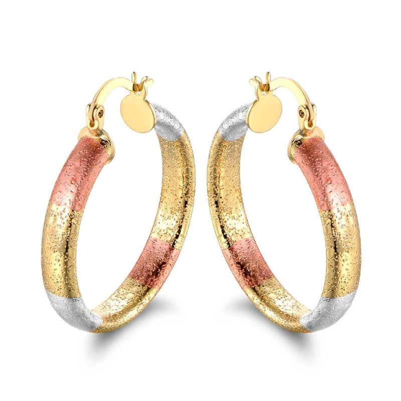 Multi Gold Hoop Earrings - Assorted Styles Jewelry No. 1 - DailySale