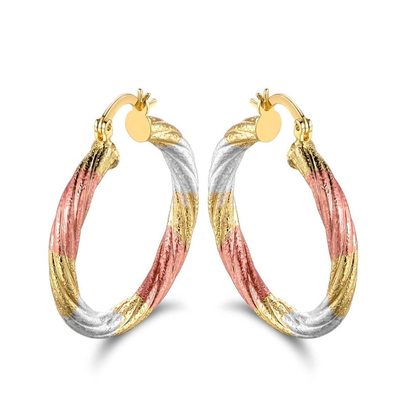 Multi Gold Hoop Earrings - Assorted Styles Jewelry No. 2 - DailySale
