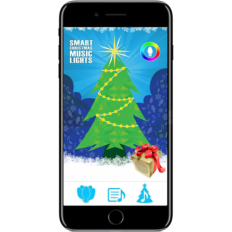 Multicolor Smart Christmas Lights - Control from your iPhone or Android Smartphone Lighting & Decor - DailySale