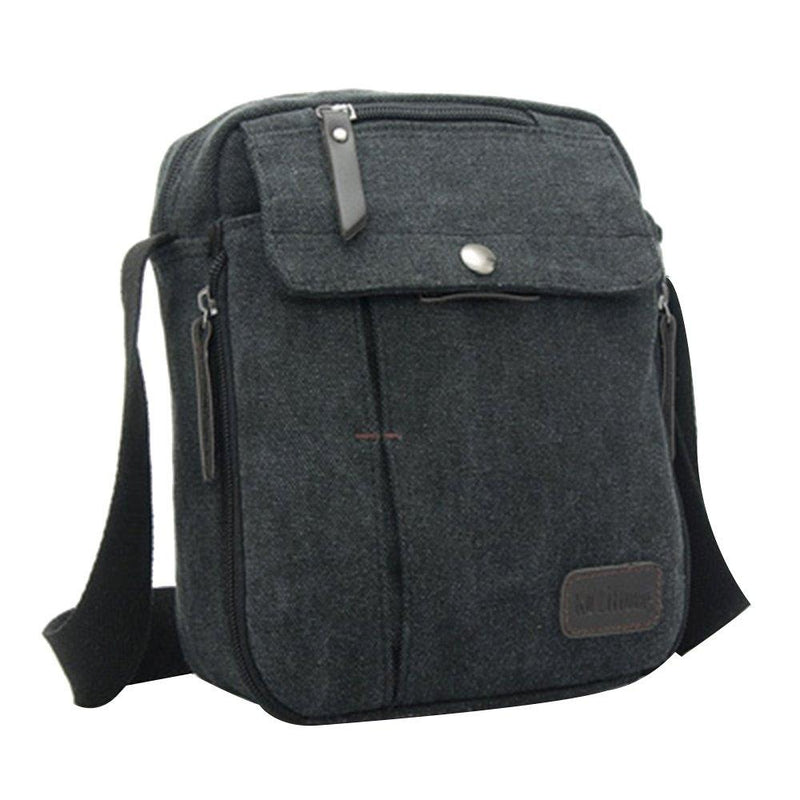 Multifunctional Canvas Traveling Bag - Assorted Colors Handbags & Wallets Black - DailySale