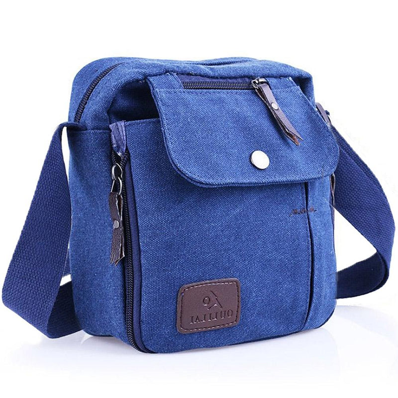 Multifunctional Canvas Traveling Bag - Assorted Colors Handbags & Wallets Blue - DailySale