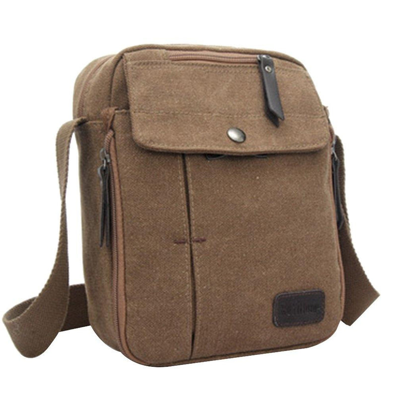 Multifunctional Canvas Traveling Bag - Assorted Colors Handbags & Wallets Coffee - DailySale