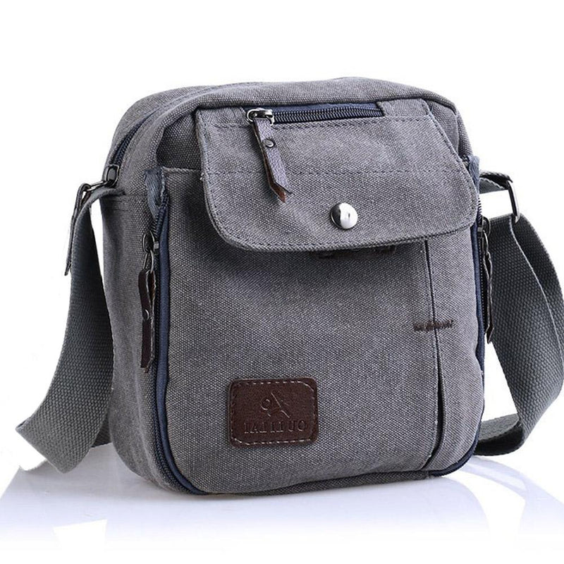 Multifunctional Canvas Traveling Bag - Assorted Colors Handbags & Wallets Gray - DailySale