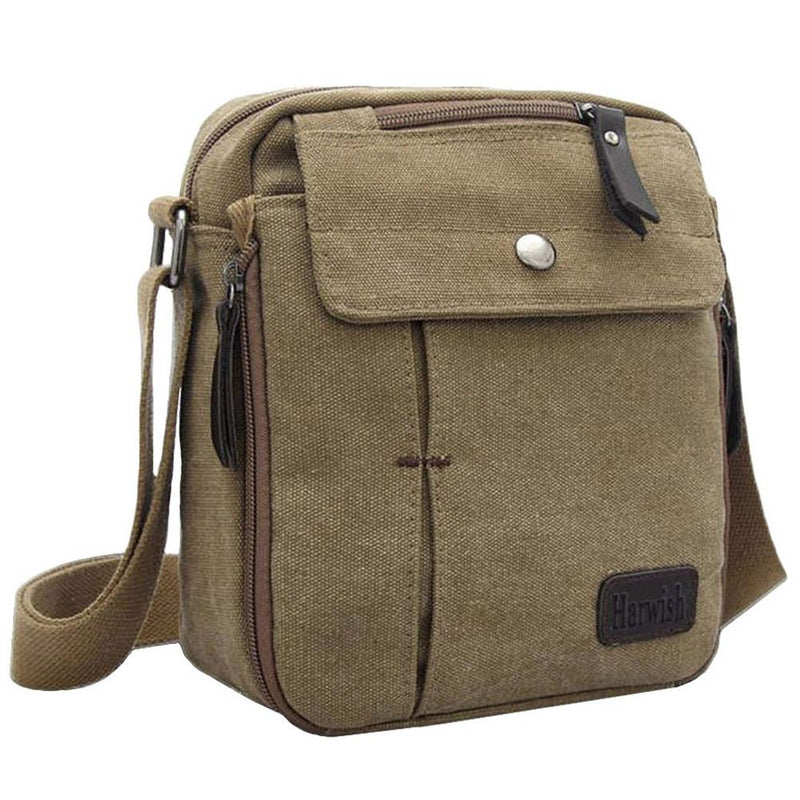 Multifunctional Canvas Traveling Bag - Assorted Colors Handbags & Wallets Khaki - DailySale
