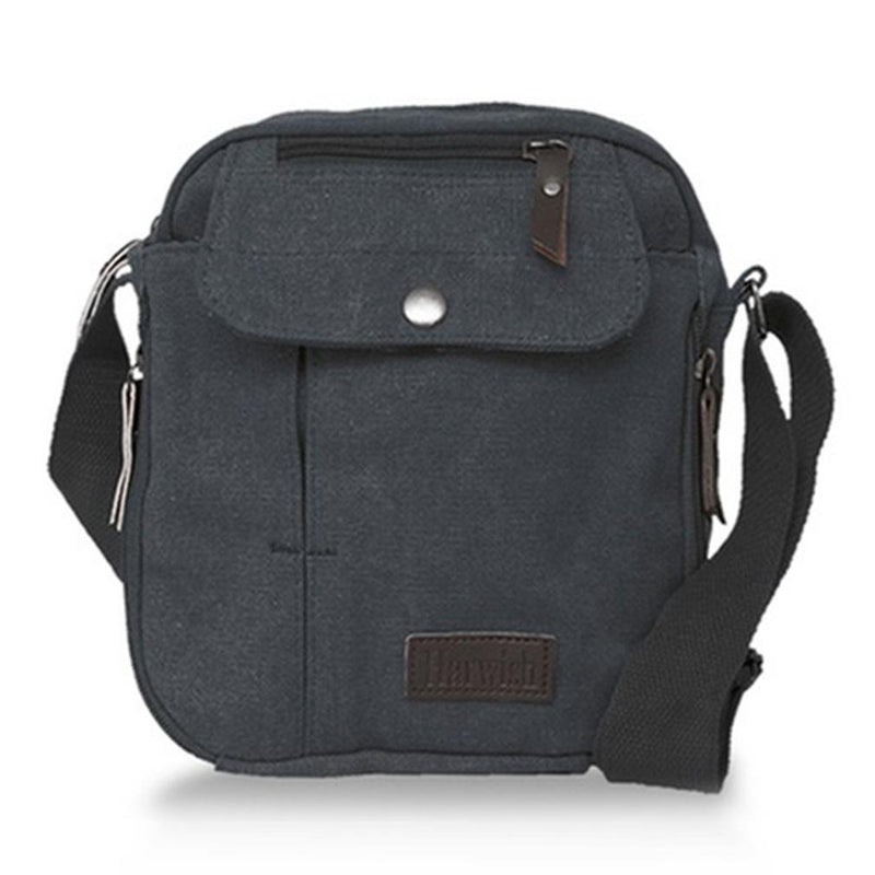 Multifunctional Heavy-Duty Canvas Traveling Bag Handbags & Wallets Black - DailySale