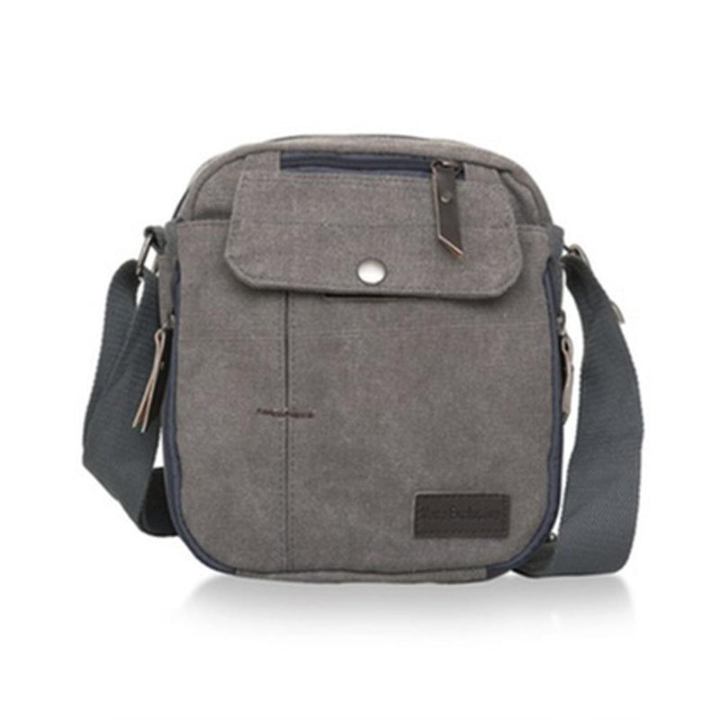Multifunctional Heavy-Duty Canvas Traveling Bag Handbags & Wallets Gray - DailySale