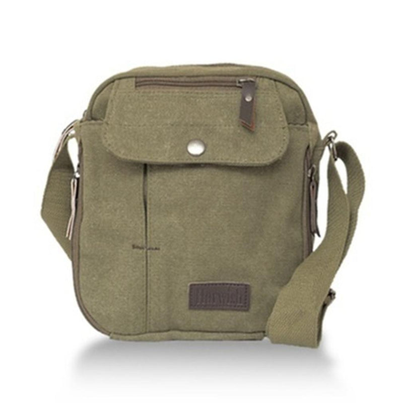 Multifunctional Heavy-Duty Canvas Traveling Bag Handbags & Wallets Khaki - DailySale