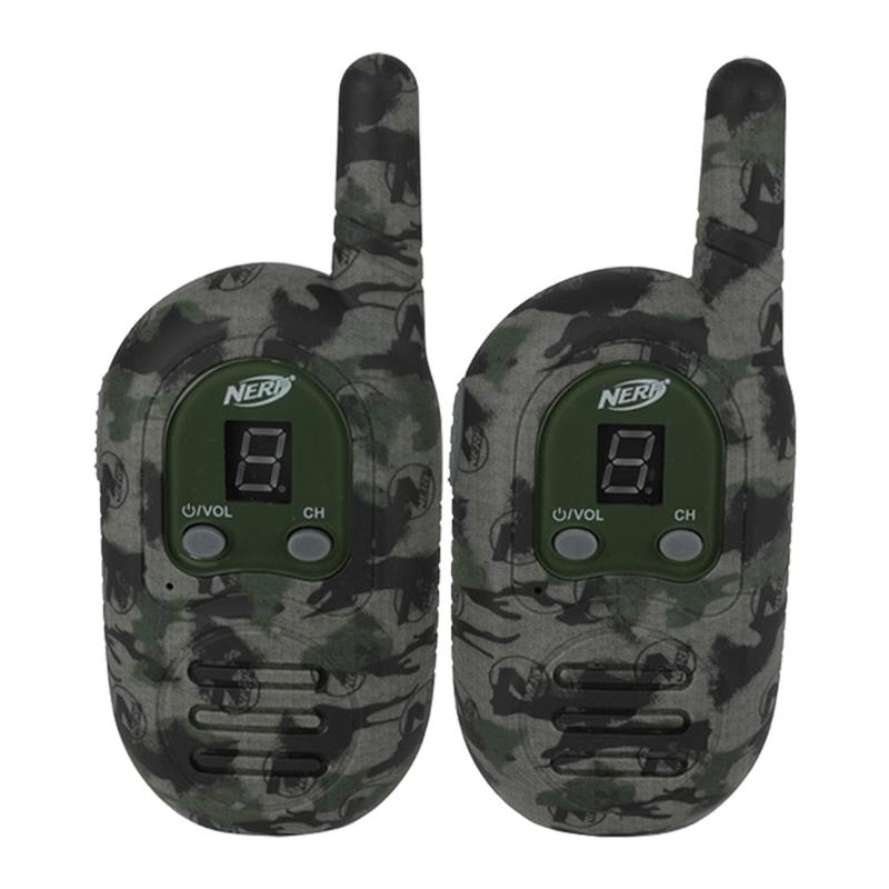 Nerf 1-Mile Rugged Sport Walkie Talkies Toys & Games Green - DailySale