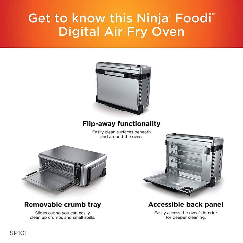 Ninja SP101 Foodi 8-in-1 Digital Air Fry Kitchen & Dining - DailySale