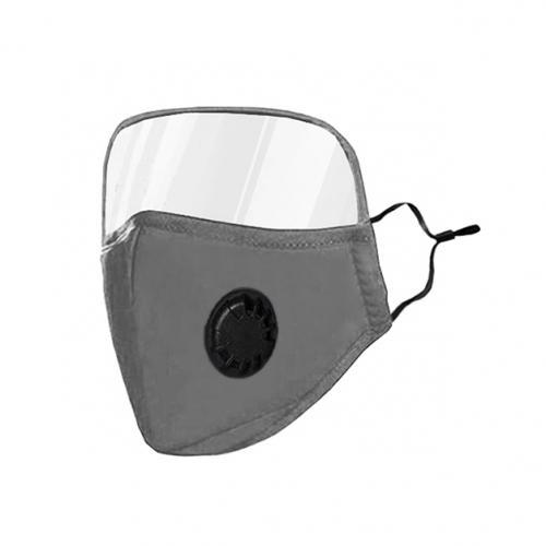 Non-Medical Protective Face Mask with Eye Shield
