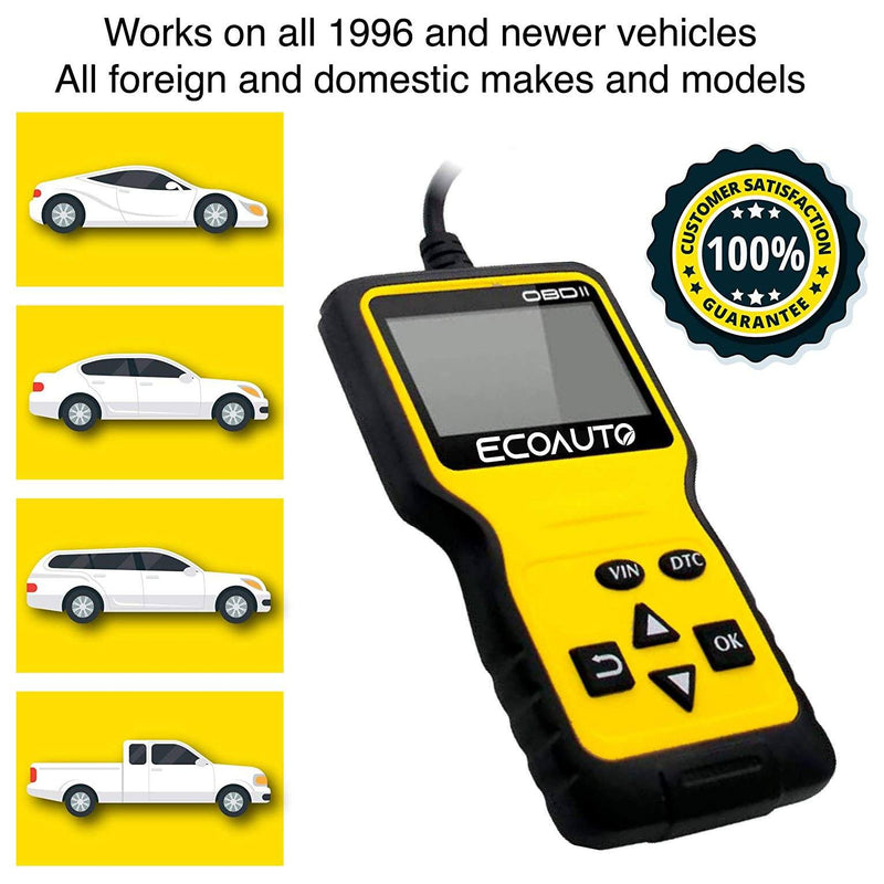 OBD2 Car Code Scanner & Reader Tool for All Vehicles Auto Accessories - DailySale