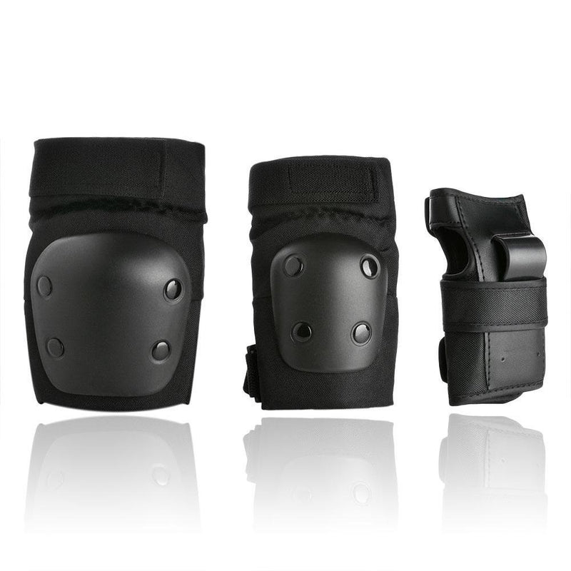 Odoland Knee and Elbow Waist Pads for Cycling, Skating, Mini Biking Riding Adjustable Size Sports & Outdoors - DailySale