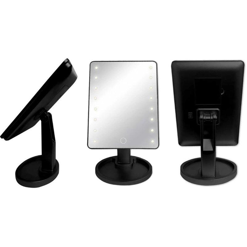 Olivia Rose Led Vanity Mirror Beauty & Personal Care Black - DailySale