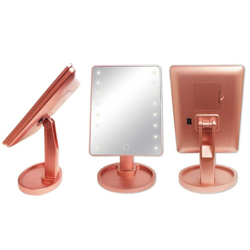 Olivia Rose Led Vanity Mirror Beauty & Personal Care Rose Gold - DailySale