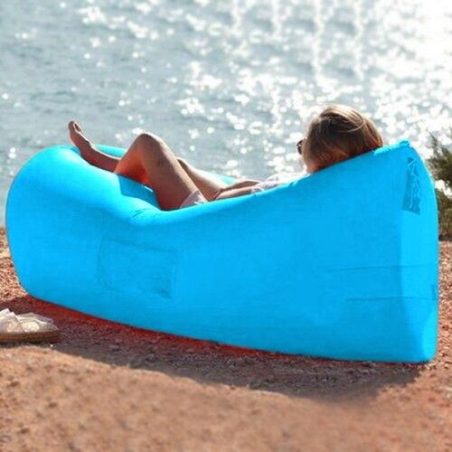 Outdoor Inflatable Lounger - Assorted Colors Toys & Games Blue - DailySale