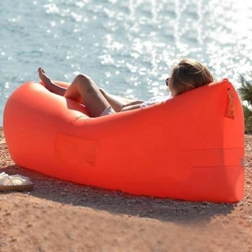Outdoor Inflatable Lounger - Assorted Colors Toys & Games Orange - DailySale