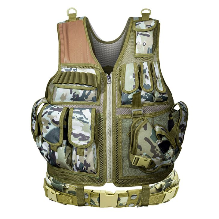 Outdoor Nation Universal Design Tactical Vest Sports & Outdoors CP Camouflage - DailySale