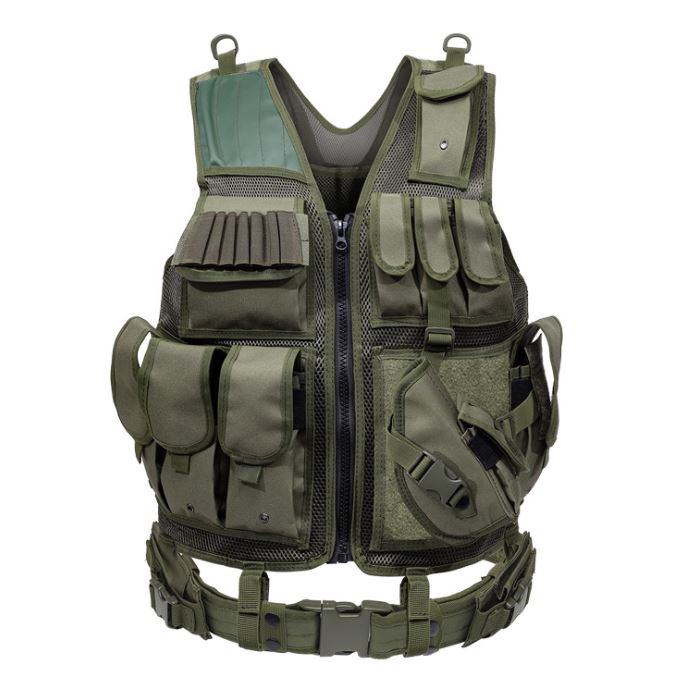 Outdoor Nation Universal Design Tactical Vest Sports & Outdoors Green - DailySale