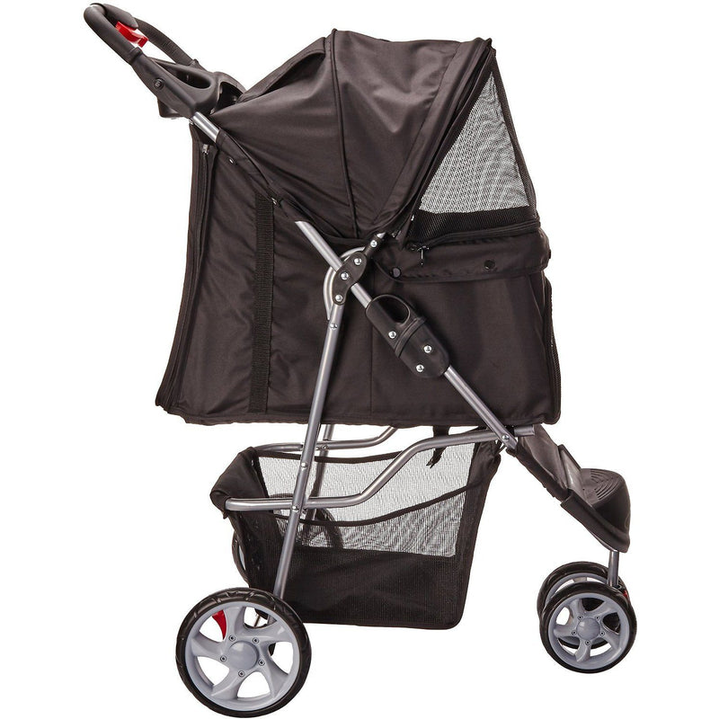 Paws & Pals Dog and Cat Folding Stroller Pet Supplies - DailySale