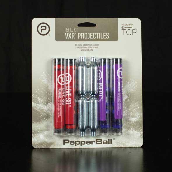 PepperBall TCP VXR Refill Kit w/CO2 Cartridges Tactical - DailySale