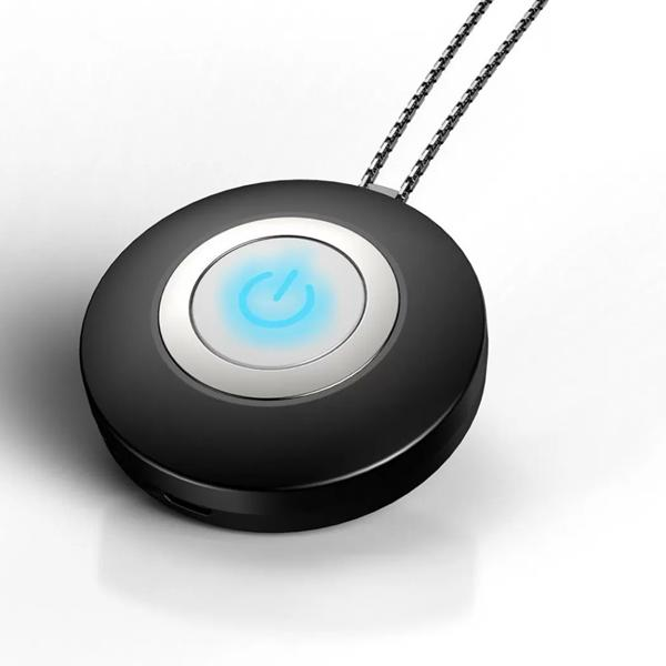 Personal Necklace Usb Portable Air Purifier Everything Else Black - DailySale