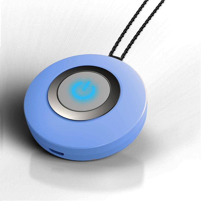 Personal Necklace Usb Portable Air Purifier Everything Else Blue - DailySale