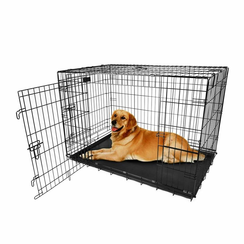 "Pet Crates Folding Metal - Assorted Sizes Pet Supplies 36"" - DailySale"