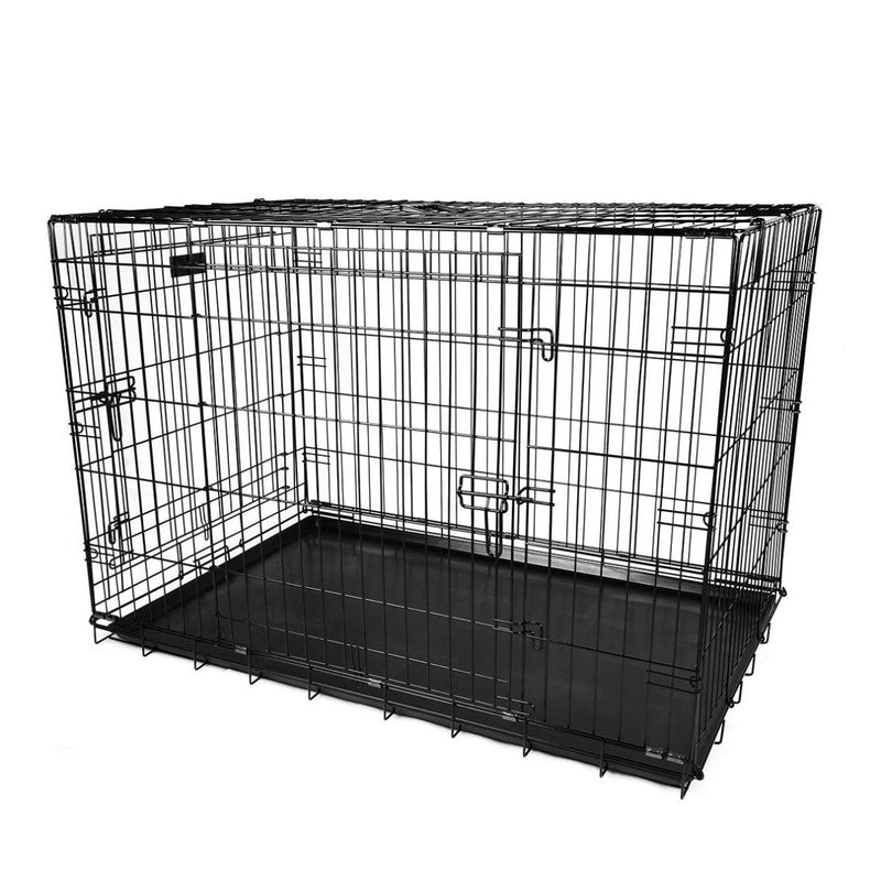 Pet Crates Folding Metal - Assorted Sizes Pet Supplies - DailySale