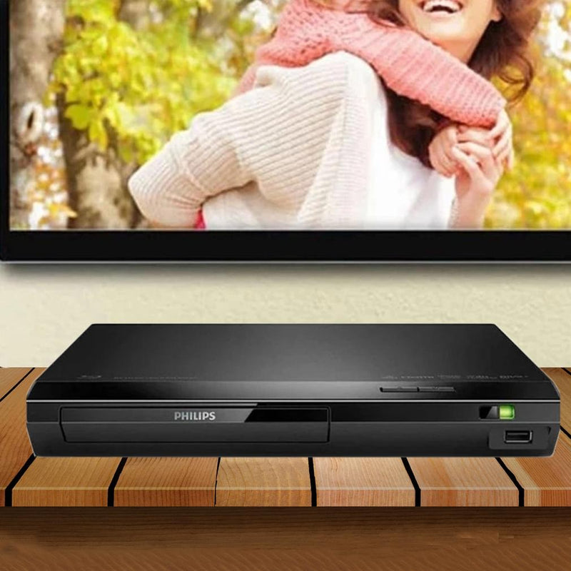 Philips Bluray DVD Player w/ Wifi and 6-Ft HDMI Cable Gadgets & Accessories - DailySale