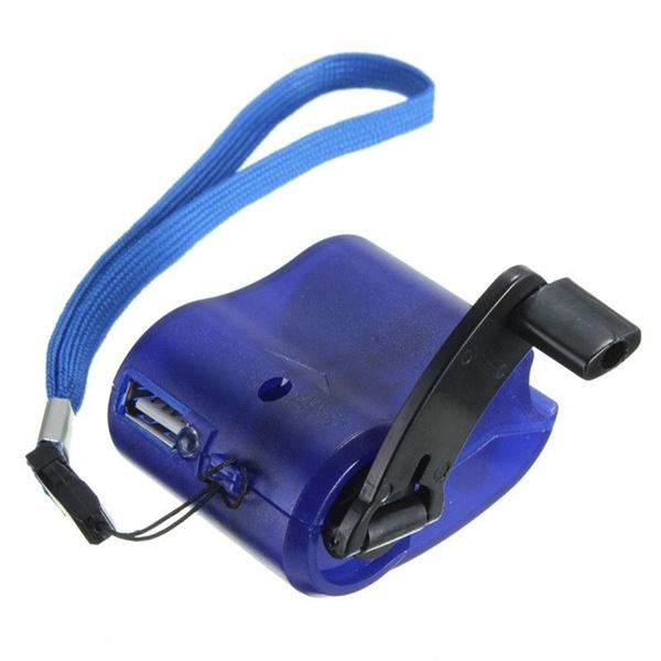Phone Emergency Charger Mobile Accessories Blue - DailySale
