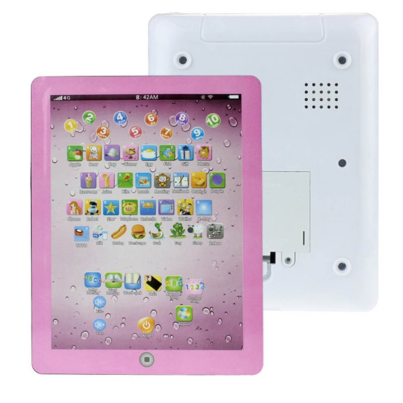 Kids First Educational Learning Touch Screen Tablet - Assorted Colors - DailySale, Inc