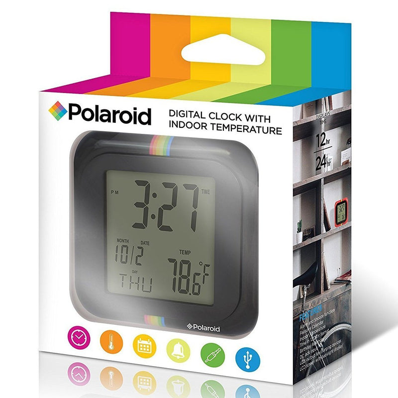 Polaroid Desktop Digital Clock - Assorted Colors Home Essentials - DailySale