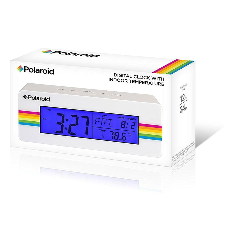 Polaroid Desktop Digital Clock Home Essentials - DailySale