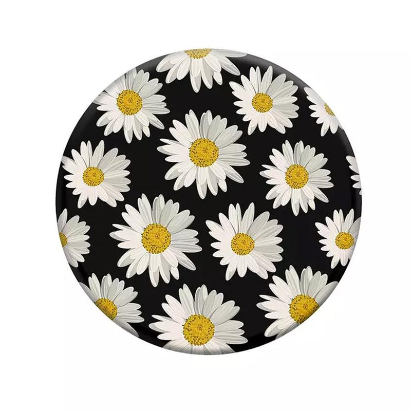 PopSockets: Collapsible Grip & Stand for Phones and Tablets Mobile Accessories Daisies - DailySale